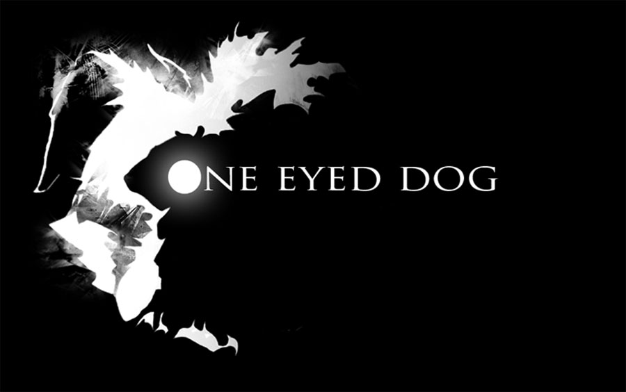 One-eyed-dog-films white logo